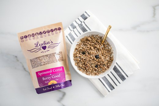 Better-for-You Swap: Lydia's Organics Berry Good Sprouted Cereal