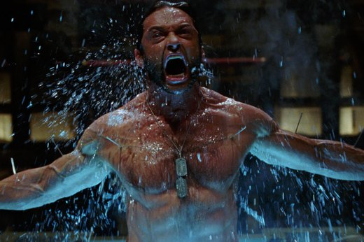 "2. Hugh Jackman in ""X-Men Origins: Wolverine"""