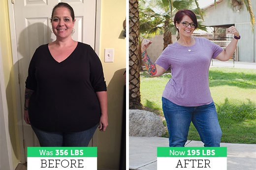 How Amanda L. Lost 152 Pounds