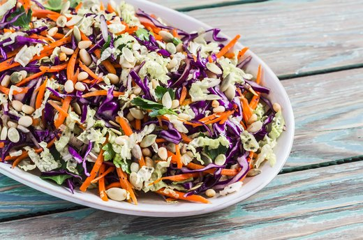 1. Vinegar-Based Slaw