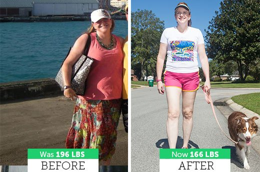 Lara S. Lost 30 Pounds and 3 Sizes!