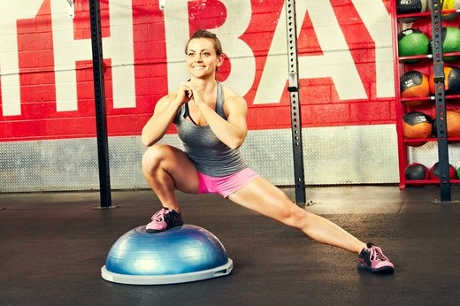 10. Side Lunges