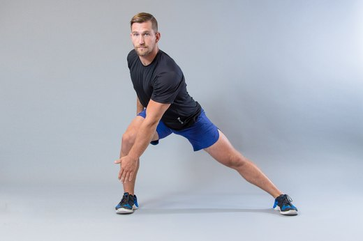 7. Lateral Lunges