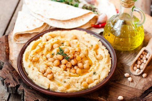 1. Hummus and Other Dips