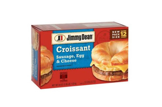 WORST: Jimmy Dean Sausage, Egg and Cheese Croissant Sandwich