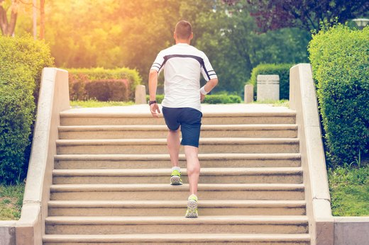 10. Unmotivated? Try Stair Climbing