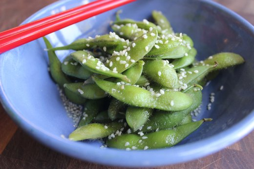 8. Edamame With Soy and Sesame