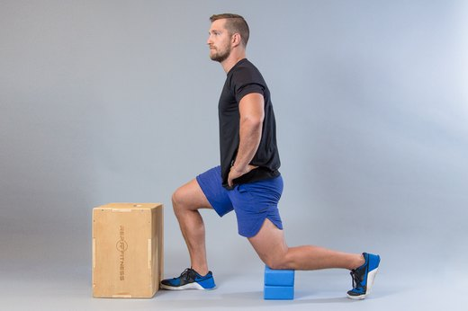 1. Standard Lunges