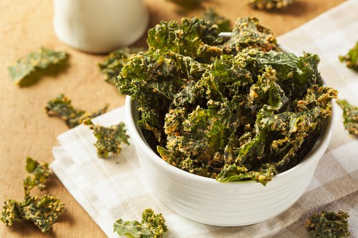 7. Make-Your-Own Kale Chips