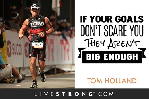 """If your goals don't scare you, they're not big enough."""