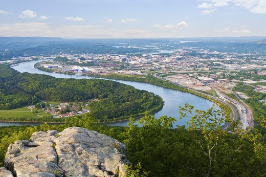 44. Chattanooga, Tennessee