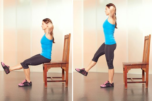 6. One-Legged Prisoner Squats