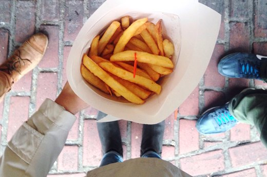 5. Worst: Chips and French Fries