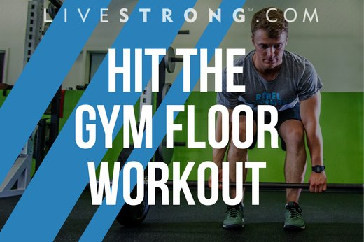 A Killer Full-Body Workout for the Gym Floor