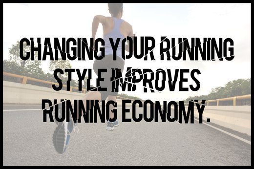 MYTH 8: Changing Your Running Style Improves Running Economy