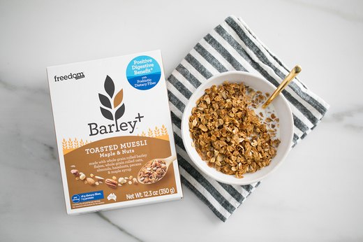 Better-for-You Swap: Freedom Foods Barley+ Toasted Muesli
