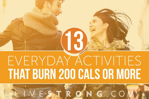 13 Everyday Activities That Burn More Than 200 Calories