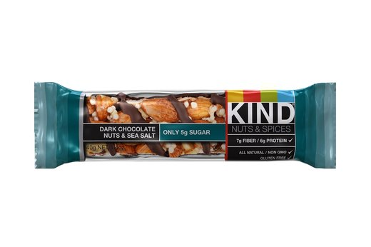1. EVERYDAY SNACK: KIND Nuts & Spices Bar