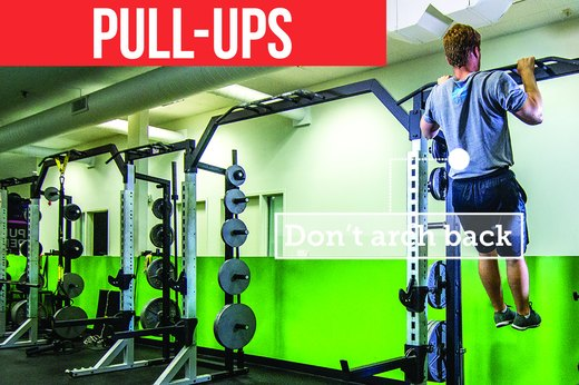 8. Pull-Up or Inverted Row