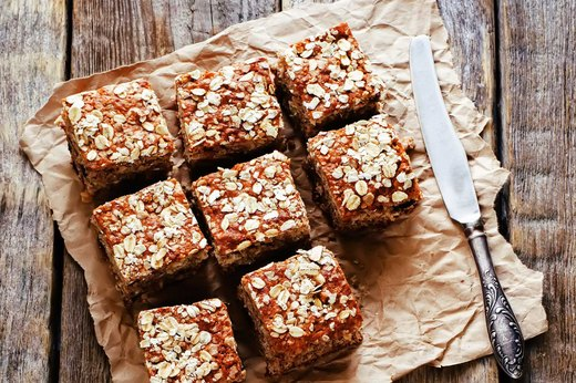 4. No-Bake Protein Bars