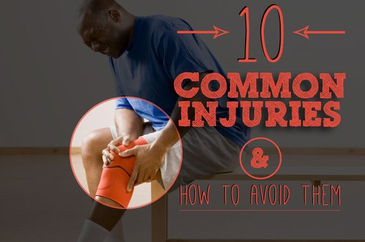 10 Common Workout Injuries and How to Avoid Them