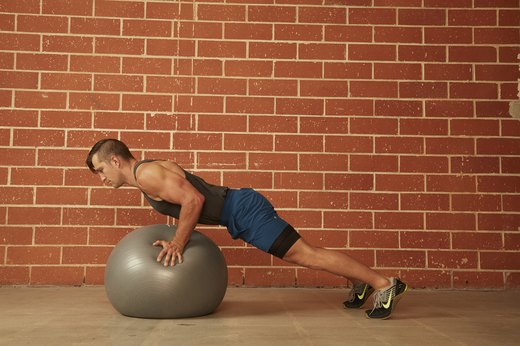 18. Stability Ball Push-Up