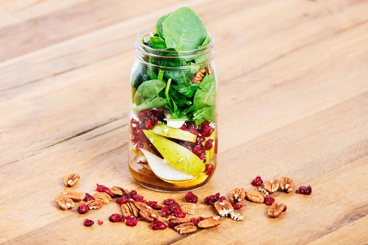 7. Pear and Cranberry Salad