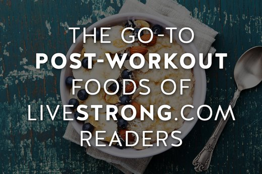 The Favorite Post-Workout Foods of Real People