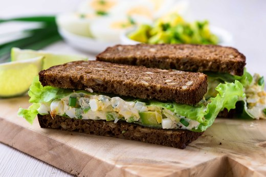 5. Avo-Egg Salad Sandwich