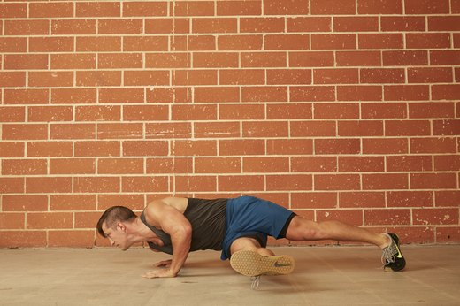 11. Hip Twist Push-Up
