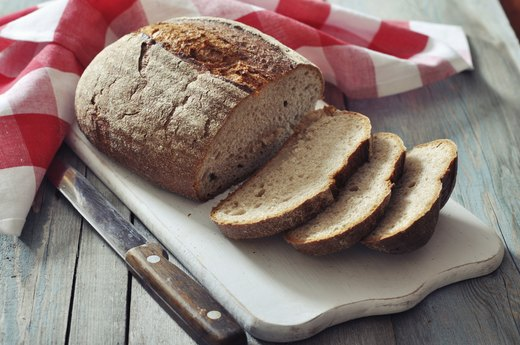 8. Whole-Grain Wheat Bread and Almond Butter