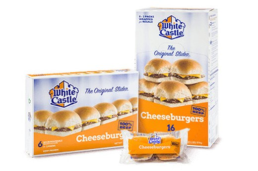 9. WORST: White Castle Cheese Sliders