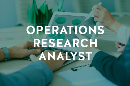 4. Operations Research Analyst