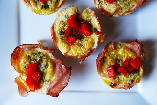 8. Ham-and-Egg Cups