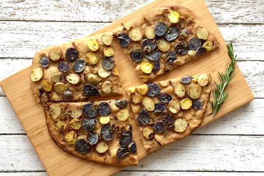 4. Rosemary Pizza Patate