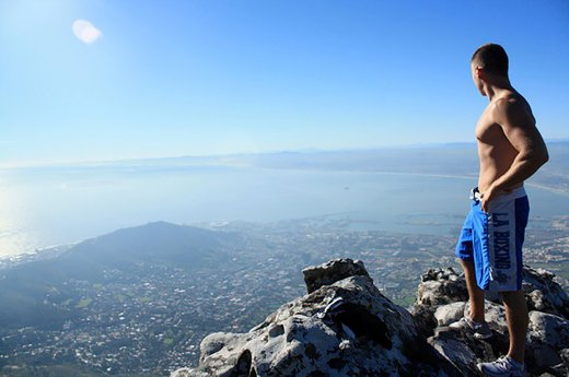 4. Table Mountain, Cape Town, South Africa