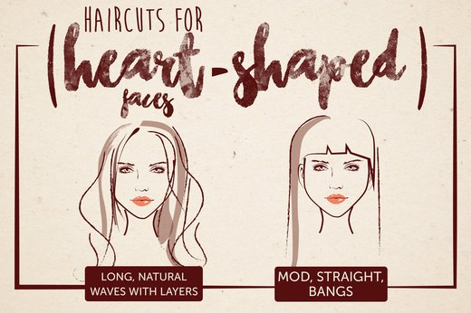 Haircuts for Heart-Shaped Faces
