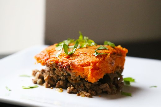 2. Sweet Potato Shepherd's Pie