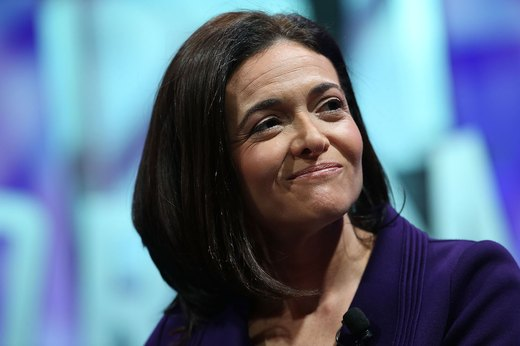 10. Sheryl Sandberg, technology executive, activist and author