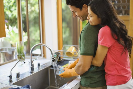 5. Clean Out Your Kitchen and Bathroom