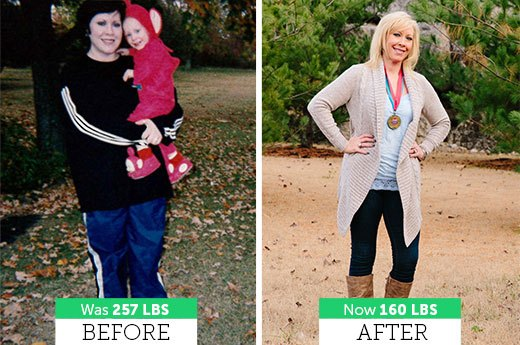 How Leslie S. Lost 97 Pounds!