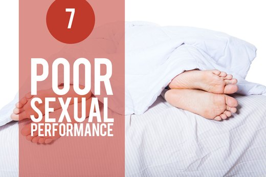 7. Stress Wrecks Sexual Performance