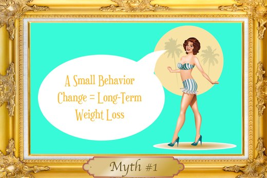 MYTH #1: A Small Behavior Change = Long-Term Weight Loss