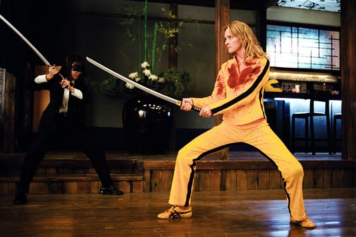 "21. Uma Thurman in ""Kill Bill"""