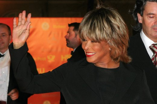 20. Tina Turner, recording artist, actress, dancer and author