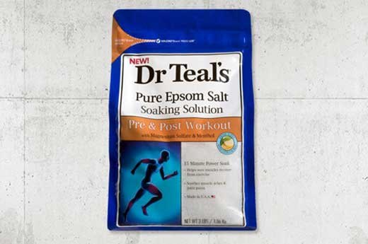 8. Dr. Teal's Pre & Post Workout Soak