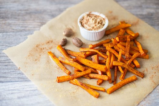 1. Spiced Butternut Squash Fries