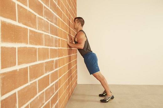 13. Hands on Wall Push-Up