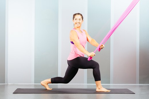 5. Stability Lunge and Twist