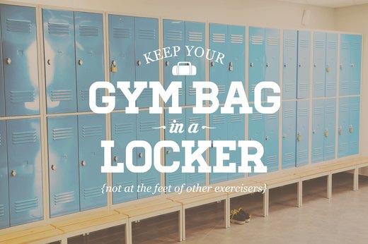 Gym etiquette rules that people often break
